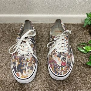Vans ASPCA 150 Cats Dogs Canvas Skate Shoes